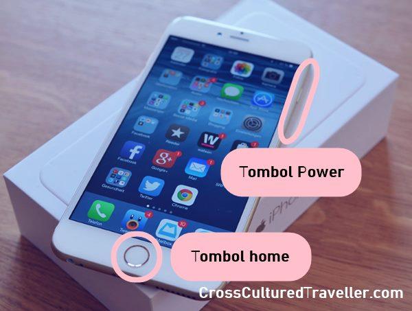 Tutorial Cara Mudah Soft Reset di iPhone 6 (Menekan Tombol Home dan Power secara Bersamaan)